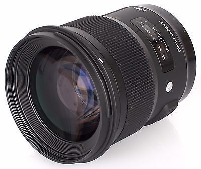 Sigma 50mm f/1.4 DG HSM Art Lens for Canon EF 311101