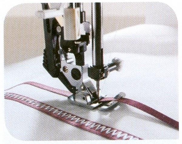 Decorative Trim Foot for PFAFF machines with codes B, C, D, E, F, G, J