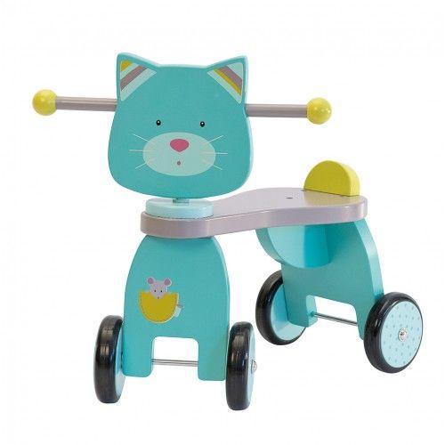 Le porteur chat de la collection Les Pachats de chez Moulin Roty est solide et décoré aux couleurs de la gamme. Retrouvez-le en vente sur notre site http://www.jeujouet.com/porteur-chat-les-pachats-moulin-roty.html #Porteur #Chat #LesPachats #MoulinRoty #Jeujouet