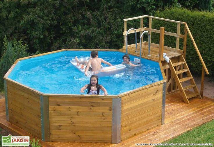 25 b sta piscine bois id erna p pinterest la petite for Piscine bois nice