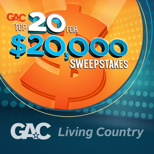 Enter GAC's Top 20 for 20 Grand Sweepstakes daily & watch the countdown on GAC every Friday night at 8/7c!: Gac S Top, Favorite Places, Contests Life S Moments, Friday Night