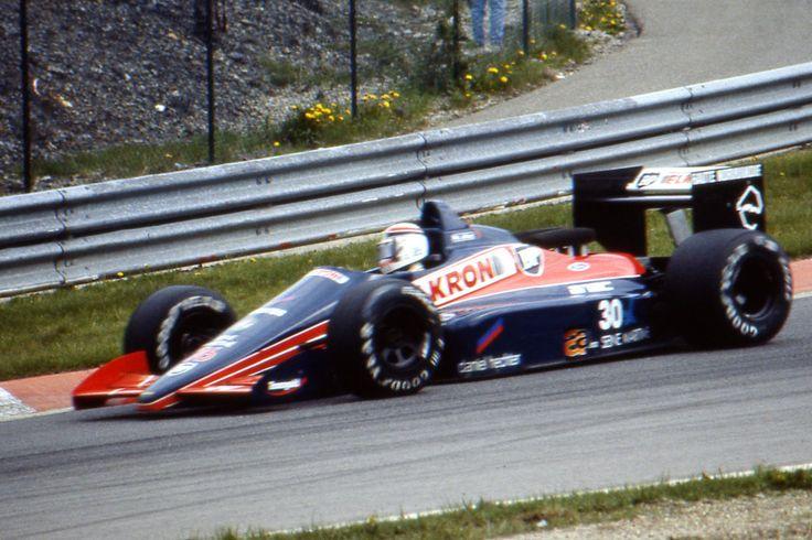 Philippe Alliot (Belgium 1987) by F1-history.deviantart.com on @deviantART