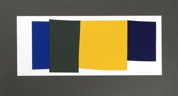 Juhana Blomstedt: Kairos Grassina XII, 2009, serigrafia, 23x42 cm - Galleria Bronda 2016