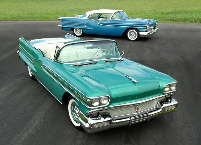 1958 Oldsmobile Convertible And Hardtop Models Classic