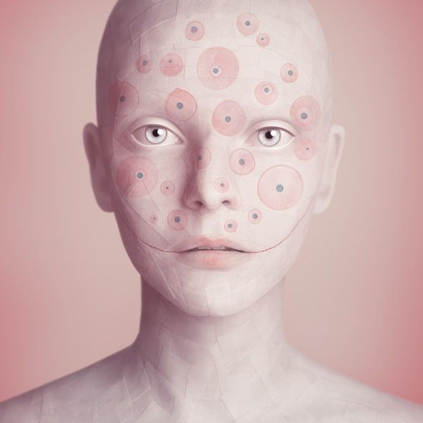 Android human by OLEG DOU  Oleg Duryagin is a photographer and designer from Moscow, he works mostly on human figures transformed into android-like features with soft skin almost like porcelain. This relationship between reality and invention makes his style definitely innovative.