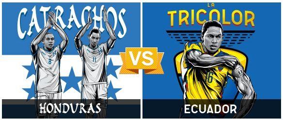 GRUPO E / #HON vs #ECU (1 - 2) / 20.06.14 / Arena Da Baixada (Curutiba)