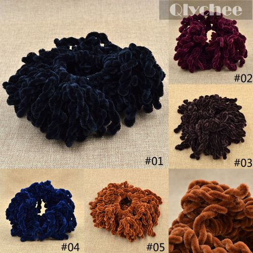 New Elastic Hair Band Headband Volumising Scrunchie Ring Tie Bun Clip Hijab Scarf Volumizer Khaleeji Wedding Hair Accessories