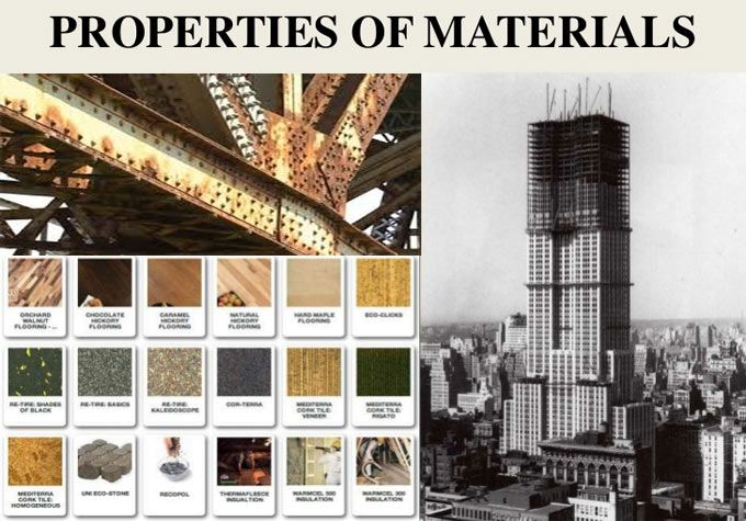 All The Building Structures Are Developed With Various Types Of Materials These Materials Are Either Building Costs Properties Of Materials Building Structure