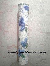 Авантюрная ваза из соленого теста от sqart