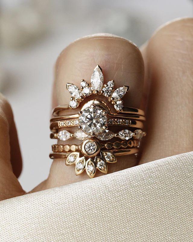 Considerthewldflwrs Pretty Diamond Ring Wedding Ring Sets Wedding Rings