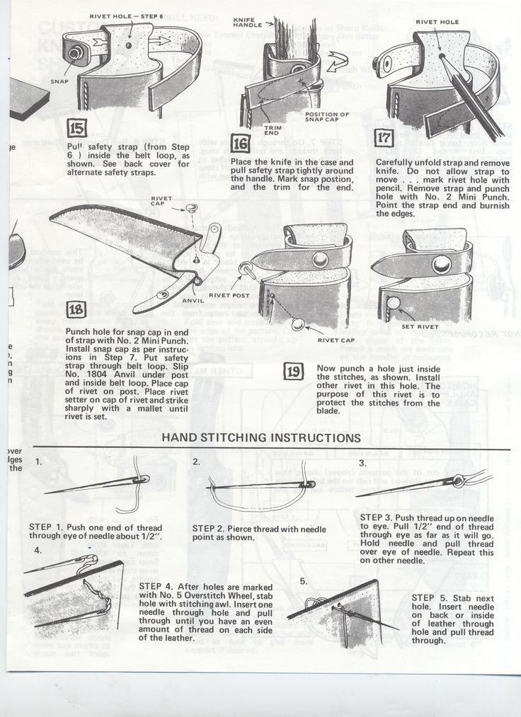 Tandy Leather | Custom Knife Sheath 3
