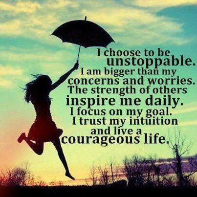 Live A Courageous Life #Quote #Inspiration #Motivation