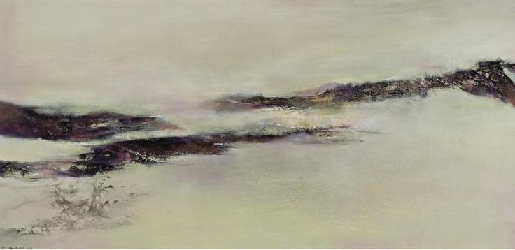 ZHAO WUJI (ZAO WOU-KI) Landscape