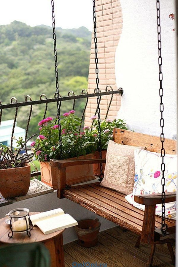 балкон современный дизайн фото