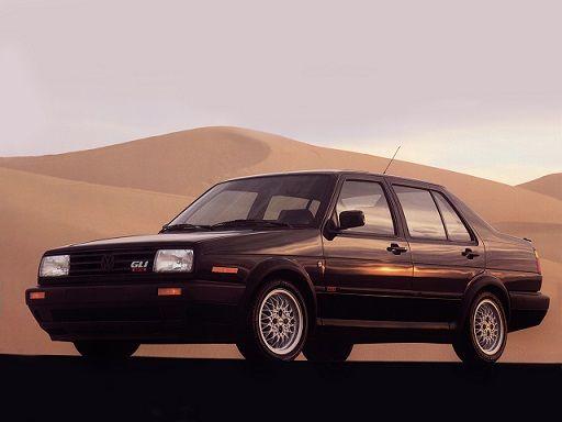"""Volkswagen Jetta GLI """"Wolfsburg"""" (1990)."""