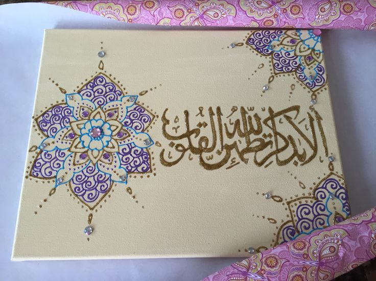 Islamic Canvas Quran on canvas