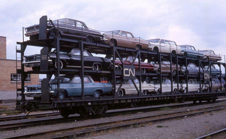 CN 700106 at Vancouver BC, 763. Car dealership, Model