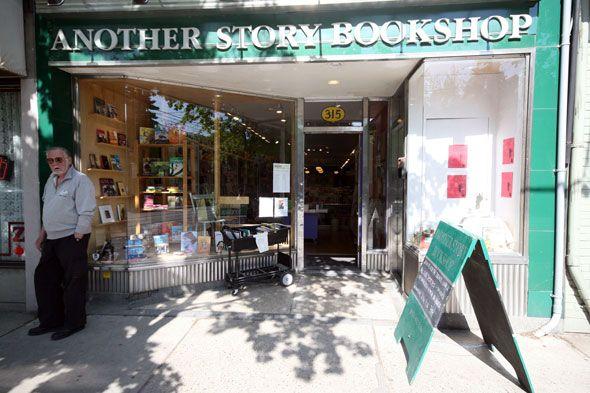 Another Story Books - Roncesvalles Avenue, Toronto, Ontario, Canada (via BlogTO.com)
