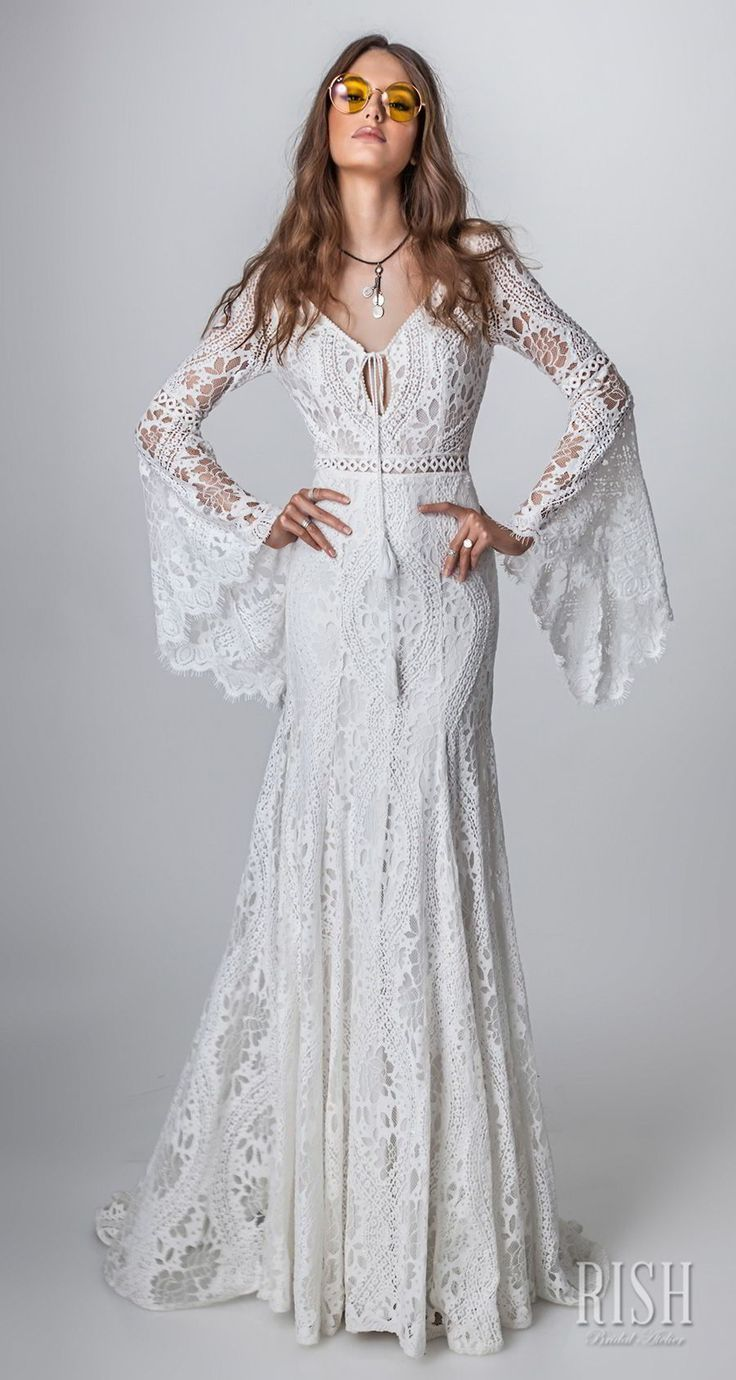 """Rish Bridal 2018 """"Sun Dance"""" Collection — Boho Chic Wedding Dresses Worth Swooning Over"""
