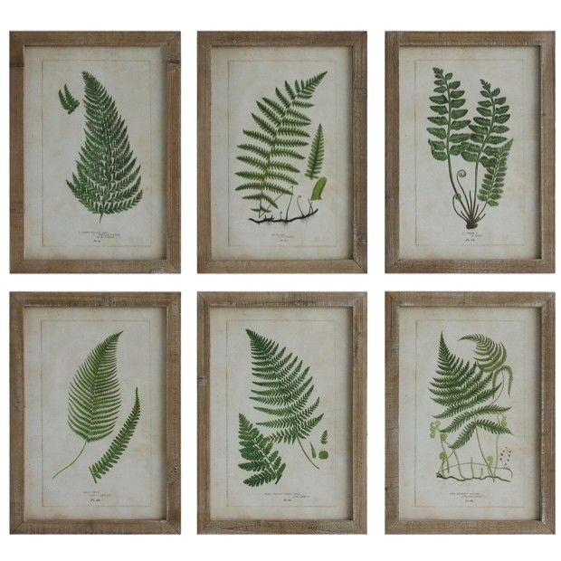 Creative Co Op Is A Home Seasonal Decor Fashion Accessories Wholesaler We Offer X Wood Framed Wall W Ferns 6 Styles More