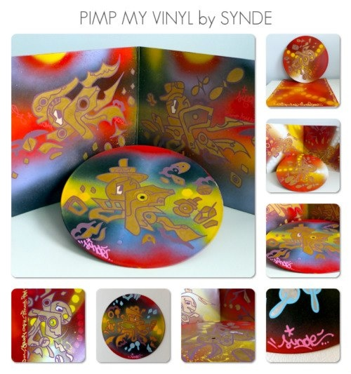 PIMP MY VINYL COLLECTION • 2012 • CUSTOM by SYNDE