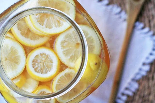 sima - finnish fermented lemon beverage