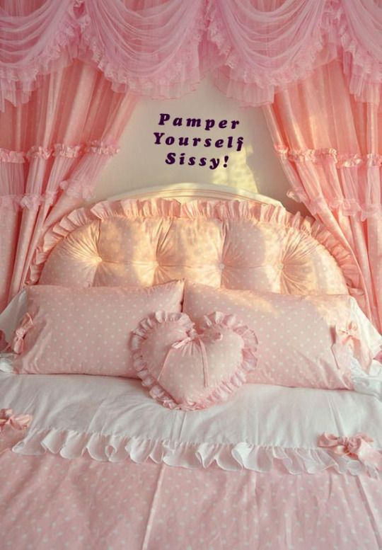 53 best sissy captions images on pinterest - Chic and stylish pink bedroom design ideas for all time girly look ...