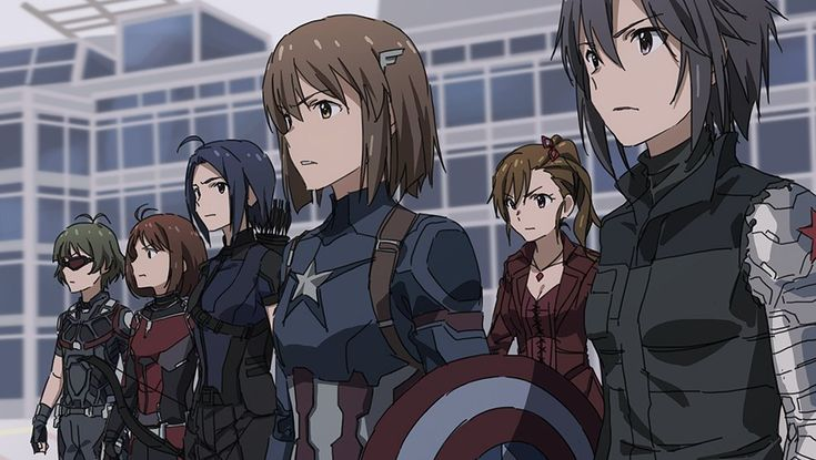 If Captain America: Civil War Was Anime http://geekxgirls.com/article.php?ID=7054