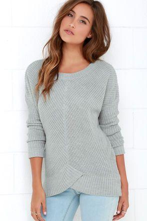 BB Dakota Amity Grey Sweater