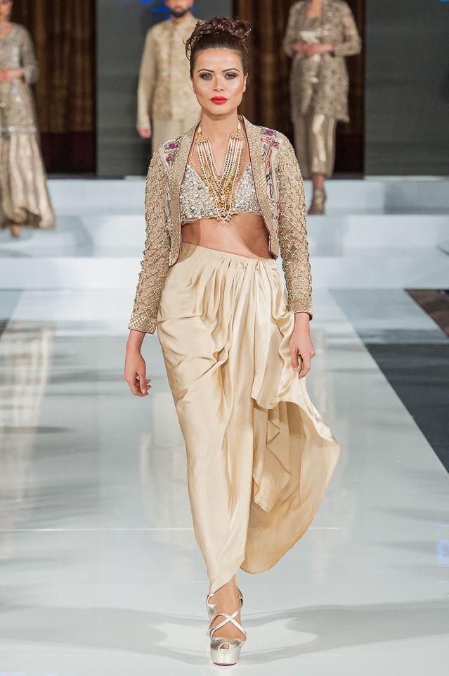 Rana Noman at 10th edition of Pakistan Fashion Week London, PFW10