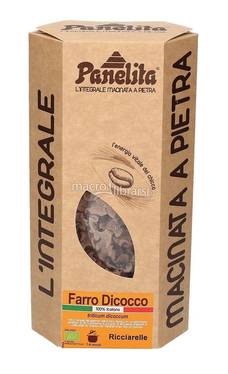 La pasta integrale italiana macinata a pietra! Pasta di Farro Dicocco 100% Italiano. La bontà in tavola per tutta la famiglia! Prodotto biologico.