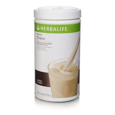 SHAKE HERBALIFE COOKIES E CREAM é alimento, pode ser consumido todos os dias, substitui até duas das três refeições, fornece 23 vitaminas e minerais, aminoácidos essenciais, proporção saudável entre carboidratos, proteínas e gorduras, 18g de proteínas de alto valor biológico por porção, mais de 1/3 das necessidades diárias de cálcio e fibras solúveis e insolúveis na proporção adequada. LOJA https://www.visiteherbalife.com.br/silvana #focoemvidasaudavel #vidaativaesaudavel #herbalife