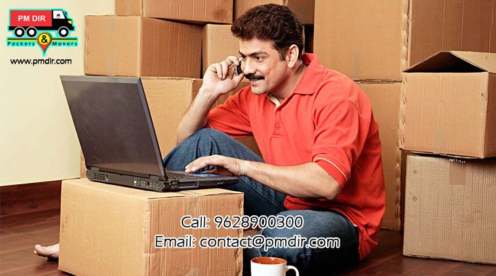 Lock your bundle of tension in a box,when you have handed over your stuff to packers and movers