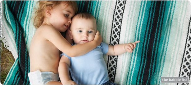 Two Under Two. Six sanity-saving tips on caring for your toddler and infant. | Babble