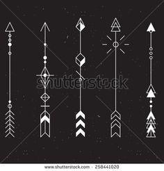 Inspiration - Flèches graphiques                              …                                                                                                                                                                                 Plus