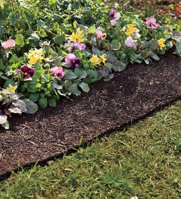 Permanent Flower Garden : Best landscaping borders ideas on pinterest