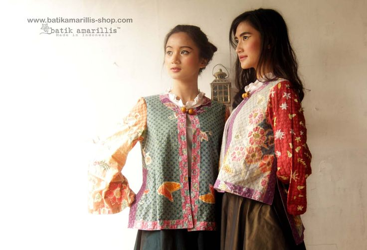 Batik Amarillis Made In Indonesia proudly presents : Batik Amarillis's Amarillissima  ..... A beautiful and mesmerizing ethereal collection of fairytale inspired.. Batik Amarillis's Amarillissima jacket is beautiful unique & special ,The style is vintage 1867's Victorian wardrobe inspired ,The unique style & cutting of this beautifully tailored garment will turn heads with its captivating design.