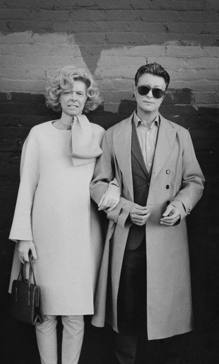 Tilda Swinton & David Bowie