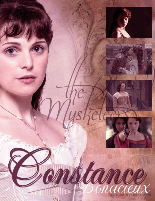 The Musketeers graphics set - Constance