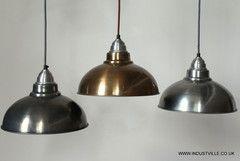 OLD FACTORY COPPER VINTAGE INDUSTRIAL DESIGN LAMPSHADE BAR RESTAURANT LIGHTING - 30 cm / 12 inch