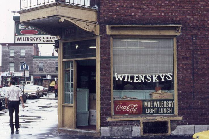 Wilensky (restaurant) – Mémoire du Mile End