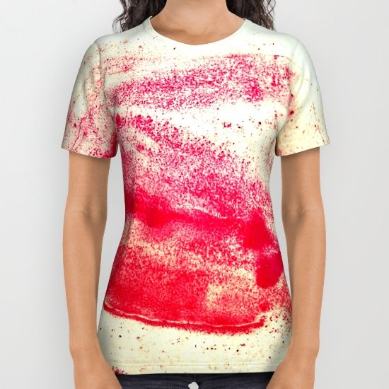 Ode to Red All Over Print Shirt
