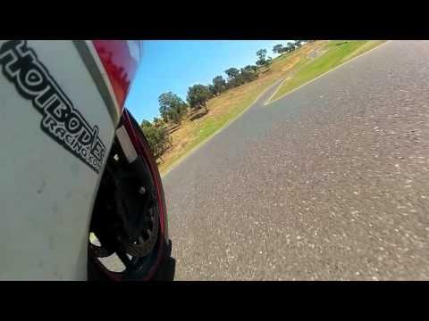 Ben on bike No1