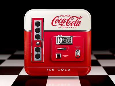 Coke Machine Icon