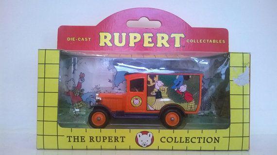 Rupert Bear Chevrolet Van Lledo Days Gone by billingsleyson