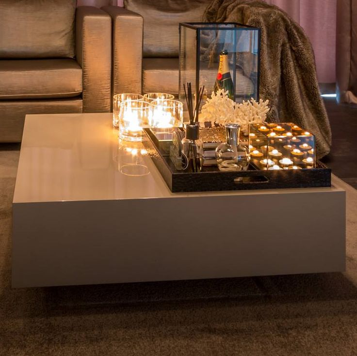 The Netherlands / Rotterdam / Private Residence / Living Room / Coffee Table / Cindy Philips Design /