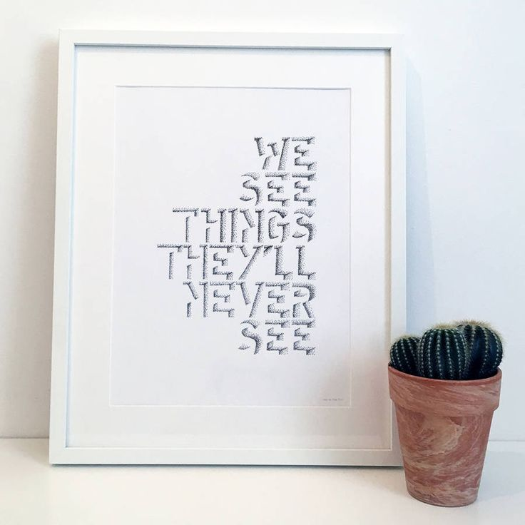 Are you interested in our Oasis Lyric poster? With our music typography print you need look no further.