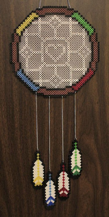 1000 images about dream catcher hama on pinterest for Dreamcatcher beads meaning