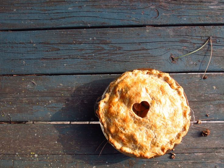 No-fear, from-scratch, homemade apple pie with a crisp, flaky all-butter pie dough | One Tough Cookie