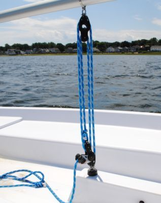 Your Guide to Sailing a Small Sailboat: Mainsheet Block and Tackle